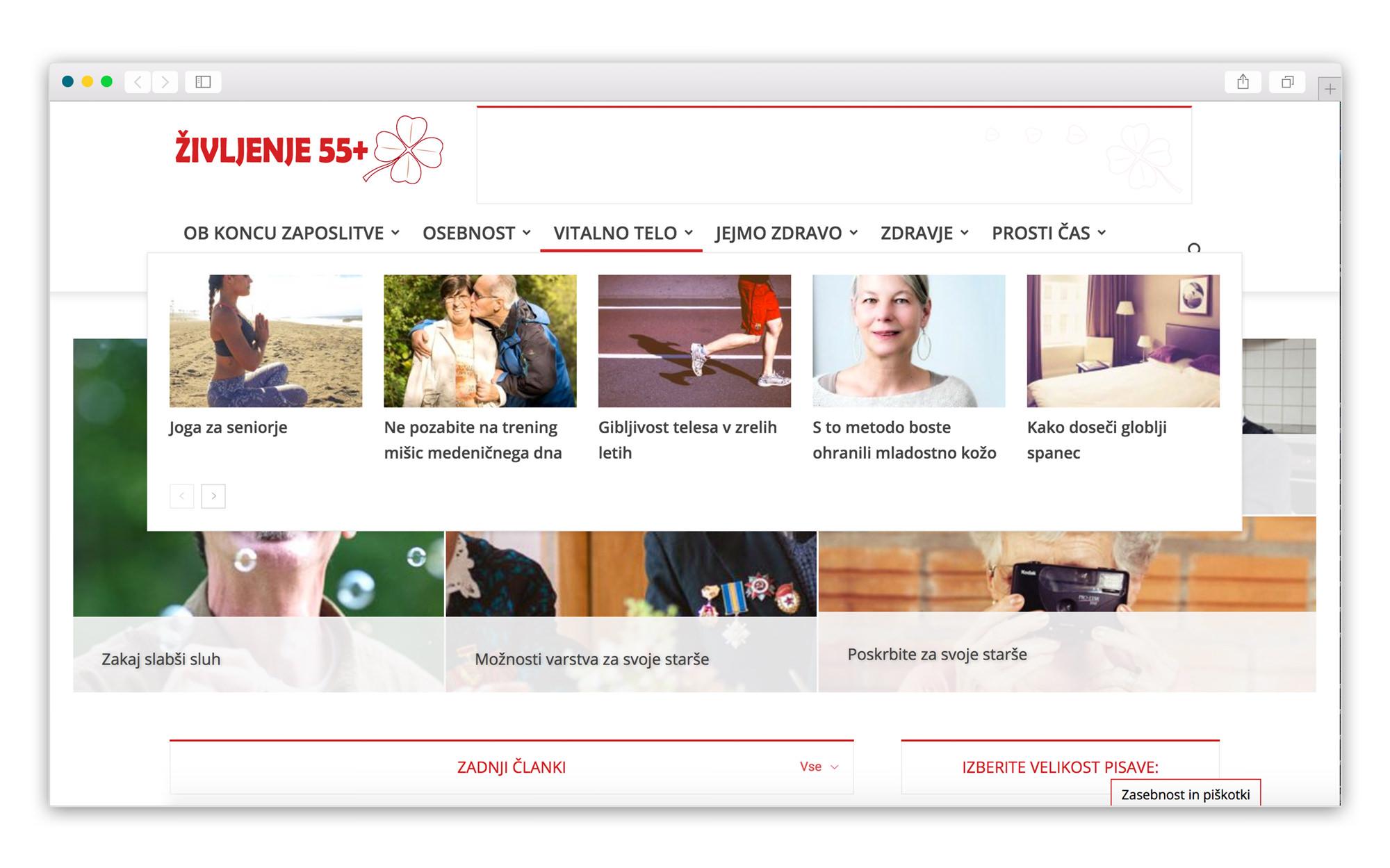 50 plus website
